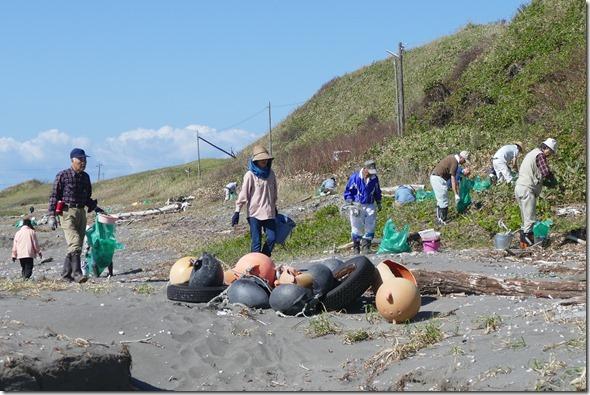 森ネット アルトリ海岸 清掃活動
